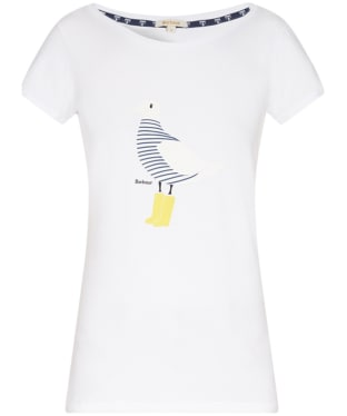 Women's Barbour Avonmouth T-Shirt - White