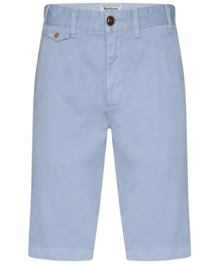 Men's Barbour Neuston Twill Shorts - Powder Blue