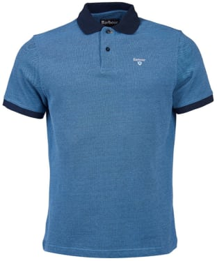 Men's Barbour Sports Polo Mix Shirt - Navy