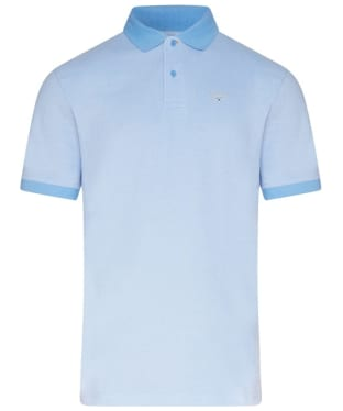 Men's Barbour Sports Polo Mix Shirt - Sky