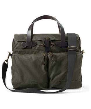 Men's Filson 24-Hour Tin Briefcase - Otter Green