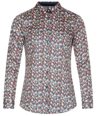 Women's Barbour Encore Shirt - Garter Blue