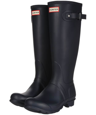 Women's Hunter Original Tall Wellington Boots - Navy