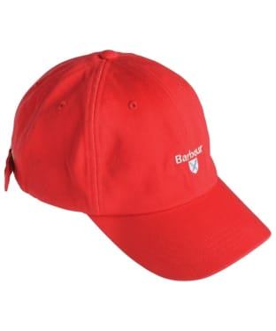 Boys Barbour Cascade Sports Cap - Red