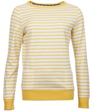 Women's Barbour Berkley Sweatshirt - Yellow