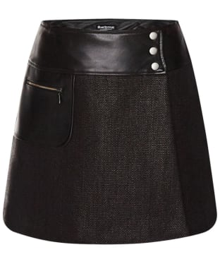 Women's Barbour International Blade Skirt - Black