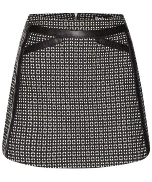 Women's Barbour International Folco Skirt - Black / White