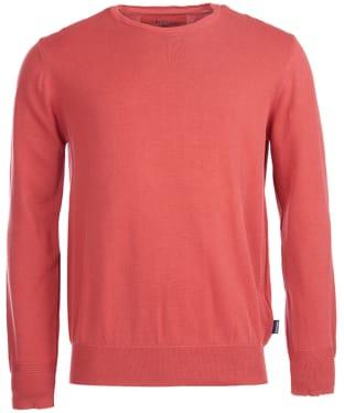 Men's Barbour Laundered Crew Neck Sweater