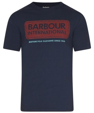 Men's Barbour International Logo Tee