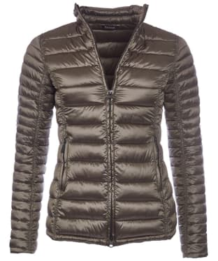 Women's Barbour Clyde Short Baffle Quilted Jacket