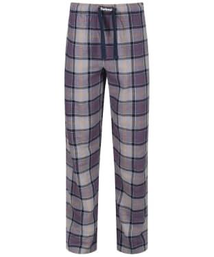 Men's Barbour Tartan Pyjama Bottoms