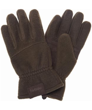 Men's Barbour Fleece Country Gloves