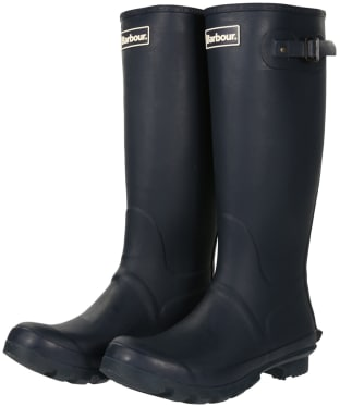 Men's Barbour Bede Wellingtons - Navy