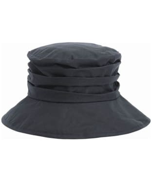 Women's Barbour Waxed Sports Hat - Navy