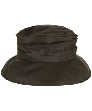 Women's Barbour Waxed Sports Hat - Olive