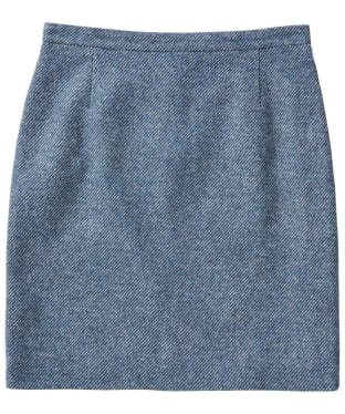 Women's GANT Tweed Pencil Skirt - Thunder Blue