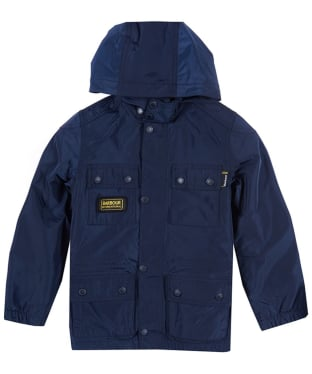 Boy's Barbour International Nyloc Jacket, 10-15yrs - Navy