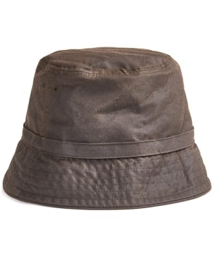 Women's Barbour Cairn Wax Trench Hat - Olive