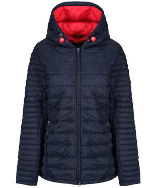 Women's Barbour Landry Baffle Quilted Jacket - Navy