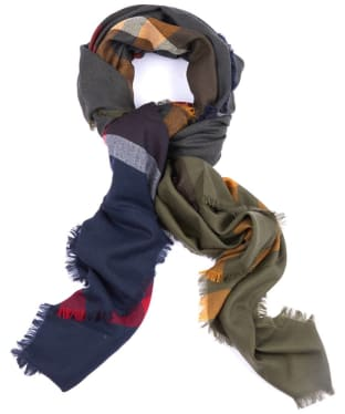 Women's Barbour Tartan Square Scarf - Barbour Classic