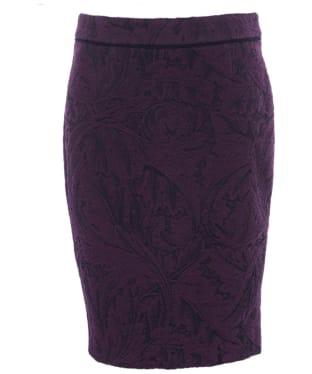 Women's Barbour Swinburn Skirt - Damson