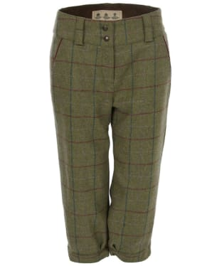 Women's Barbour Lemington Breek's - Olive Check