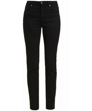 Women's Barbour Essential Slim Trousers - Black