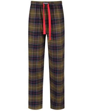 Men's Barbour Tartan Pyjama Bottoms - Classic Tartan