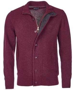 Men's Barbour Patch Zip Through Sweater
