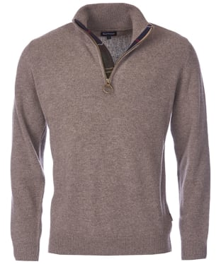 Men's Barbour Holden Half Zip Sweater - Military Marl