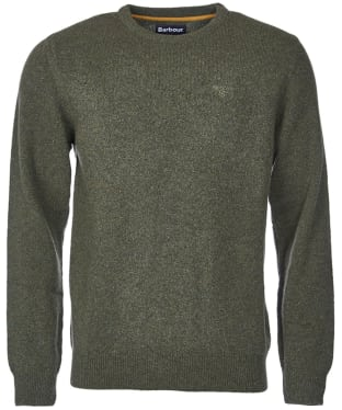 Men's Barbour Tisbury Crew Neck Sweater - Forest