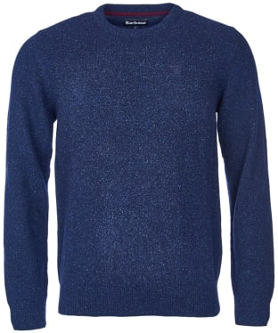Men's Barbour Tisbury Crew Neck Sweater - Navy