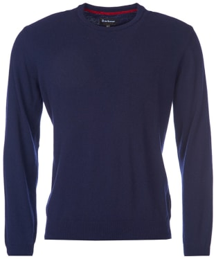Men's Barbour Harrow Crew Neck Sweater - Dark Navy