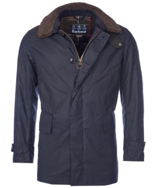 Men's Barbour Arding Wax Jacket - Navy