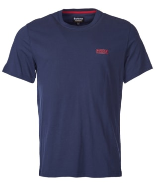 Men's Barbour International Small Logo Tee - Navy