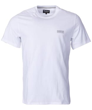 Men's Barbour International Small Logo Tee - White
