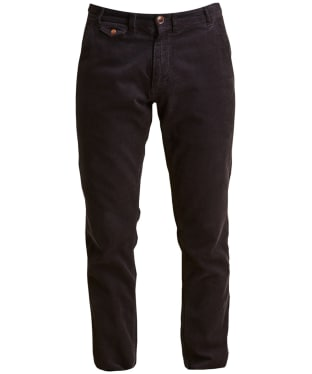 Men's Barbour Neuston Fine Cord Trousers - Navy