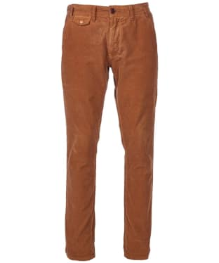 Men's Barbour Neuston Fine Cord Trousers - Camel