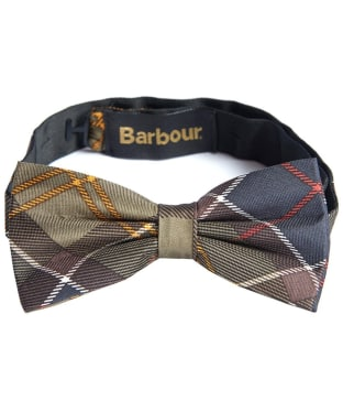 Men's Barbour Tartan Bow Tie - Classic Tartan