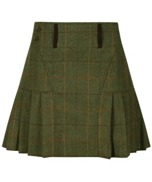 Women's Alan Paine Combrook Pleated Skirt - Landscape