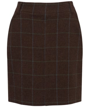 Women's Alan Paine Combrook Pencil Skirt - Dusk Brown