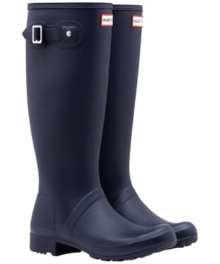 Women's Hunter Original Tour Wellingtons - Navy