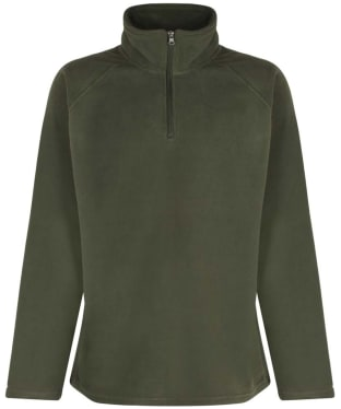 Men's Alan Paine Budworth Microfleece Pullover - Olive