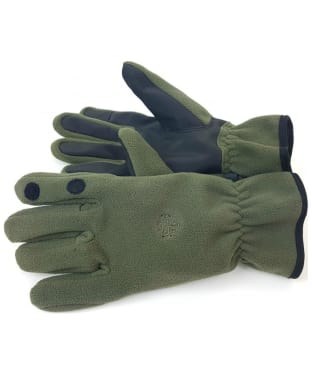 Men's Alan Paine Calshot Microfleece Shooting Gloves - Olive