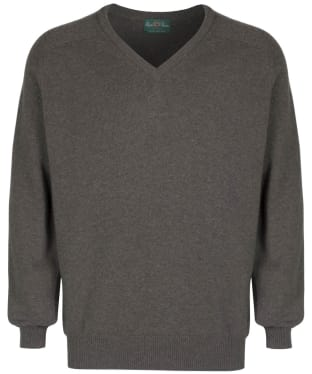 Men's Alan Paine Stratford Long Sleeve V Neck Sweater - Landscape