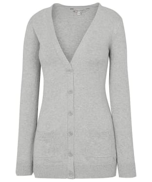 Women's Crew Clothing Lomond Cardigan - Silver Grey Marl