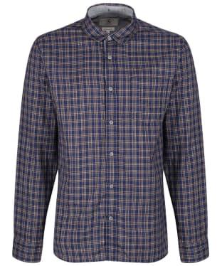 Men's Aigle Softon Preppy Shirt - Night Check