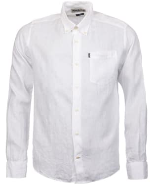 Men's Barbour Frank Tailored Fit Shirt - White
