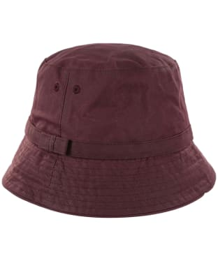 Women's Barbour Cairn Wax Trench Hat - Bordeaux
