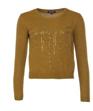 Women's Barbour International Katana Sequin Knit Sweater